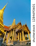 grand palace and wat phra keaw  ... | Shutterstock . vector #1284693601