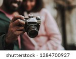 close up selective focus of... | Shutterstock . vector #1284700927