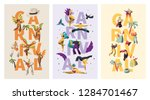 brazil carnival exotic... | Shutterstock .eps vector #1284701467