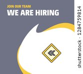 join our team. busienss company ... | Shutterstock .eps vector #1284759814