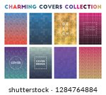 charming covers collection.... | Shutterstock .eps vector #1284764884