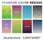 stunning cover designs. actual... | Shutterstock .eps vector #1284764887