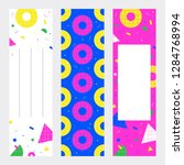 set of bookmarks or banners... | Shutterstock .eps vector #1284768994