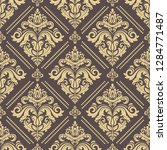 orient vector classic pattern....   Shutterstock .eps vector #1284771487