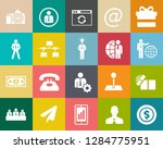 business and office icons ... | Shutterstock .eps vector #1284775951
