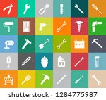 repair tools icons set  ... | Shutterstock .eps vector #1284775987