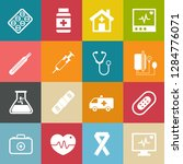 medical icons  health care... | Shutterstock .eps vector #1284776071