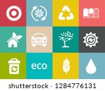 energy and ecology icons ... | Shutterstock .eps vector #1284776131