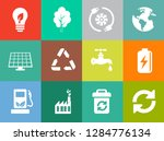 energy and ecology icons ... | Shutterstock .eps vector #1284776134