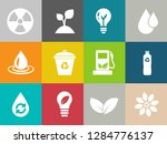 energy and ecology icons ... | Shutterstock .eps vector #1284776137