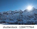 walk around the italian alps ... | Shutterstock . vector #1284777964