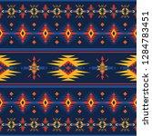 ethnic seamless pattern. native ... | Shutterstock .eps vector #1284783451