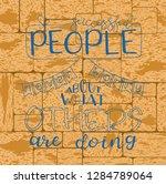 inspirational quote... | Shutterstock .eps vector #1284789064