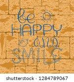 inspirational quote... | Shutterstock .eps vector #1284789067