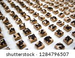 the conveyor for the production ... | Shutterstock . vector #1284796507