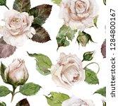seamless watercolor pattern....   Shutterstock . vector #1284800167