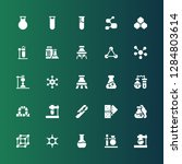 reaction icon set. collection... | Shutterstock .eps vector #1284803614