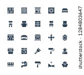 interior icon set. collection... | Shutterstock .eps vector #1284803647