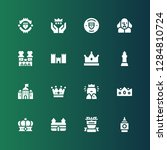 Kingdom Icon Set. Collection Of ...