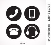 phone  icon    vector   flat  ...