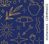 creative seamless pattern.... | Shutterstock .eps vector #1284846631