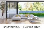 large luxury modern bright... | Shutterstock . vector #1284854824