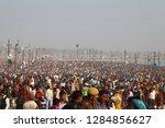 allahabad  india   february 10  ... | Shutterstock . vector #1284856627