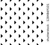 seamless vector geometrical... | Shutterstock .eps vector #1284869101