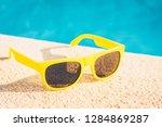 resort vacation concept   close ... | Shutterstock . vector #1284869287