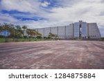 monumental brutal reinforced... | Shutterstock . vector #1284875884