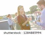 portraits of an attractive...   Shutterstock . vector #1284885994