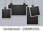 set of photo frames. blank... | Shutterstock .eps vector #1284891031