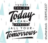 inspirational quote  motivation.... | Shutterstock .eps vector #1284916237