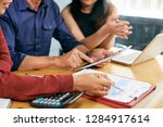 close up image of business... | Shutterstock . vector #1284917614
