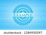 example water wave badge... | Shutterstock .eps vector #1284930397