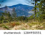 lysa hill in beskydy mountains... | Shutterstock . vector #1284950551