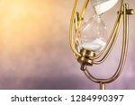 white sand running through the...   Shutterstock . vector #1284990397