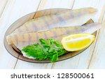 raw fish | Shutterstock . vector #128500061
