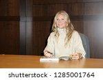 los angeles   jan 14   gwyneth... | Shutterstock . vector #1285001764