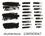 paint brush thin background  ... | Shutterstock .eps vector #1285005067