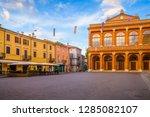 rimini  italy   june 13  2018 ... | Shutterstock . vector #1285082107