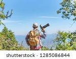 nature photographer take photos ... | Shutterstock . vector #1285086844
