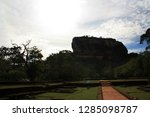 main entrance to the lion rock... | Shutterstock . vector #1285098787