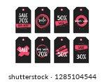 vector illustration collection...   Shutterstock .eps vector #1285104544