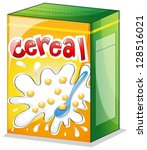 illustration of a cereal on a...   Shutterstock .eps vector #128516021