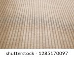 japanese traditional tatami mat ... | Shutterstock . vector #1285170097
