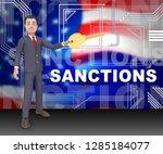 washington  dc   january 2019 ... | Shutterstock . vector #1285184077