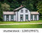 The historic Hale Farm Village in Ohio