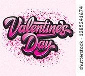calligraphic stylish vector...   Shutterstock .eps vector #1285241674