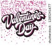 calligraphic stylish vector...   Shutterstock .eps vector #1285241677